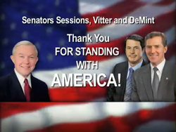 THANK YOU SESSONS, VITTER, DEMINT
